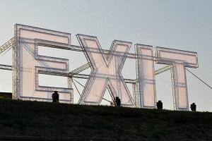 exit sign klein