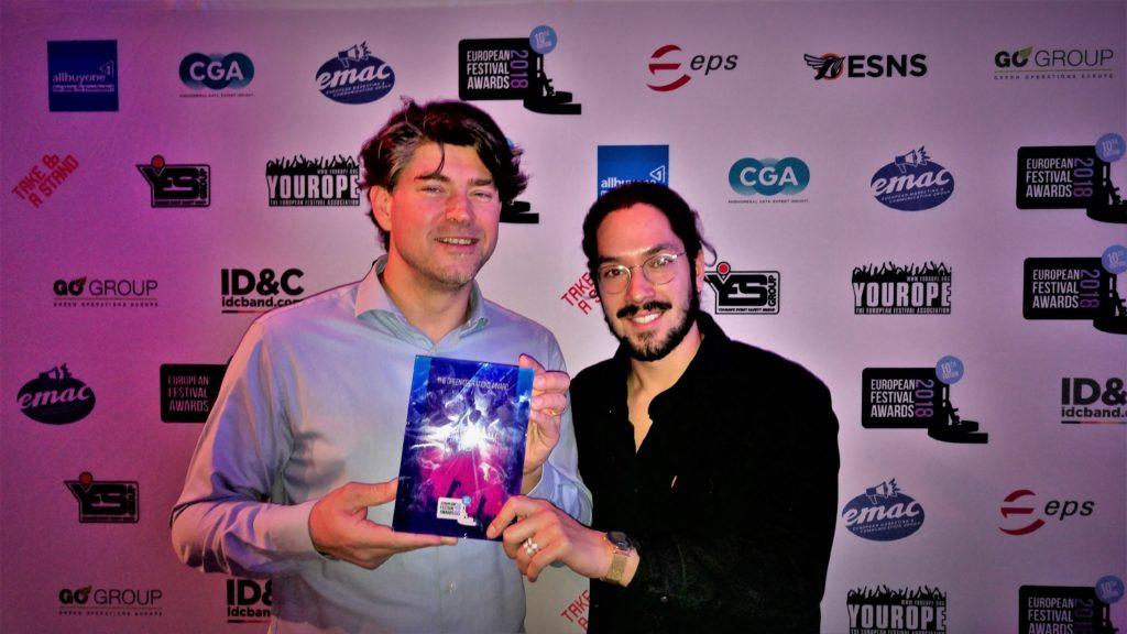 2018 Green Operations Award winners DGTL Festival Amsterdam